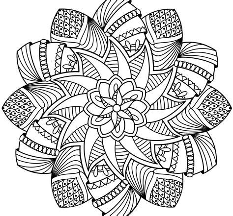 mandala coloring pages free mandala coloring pages printable lihatsinopsis