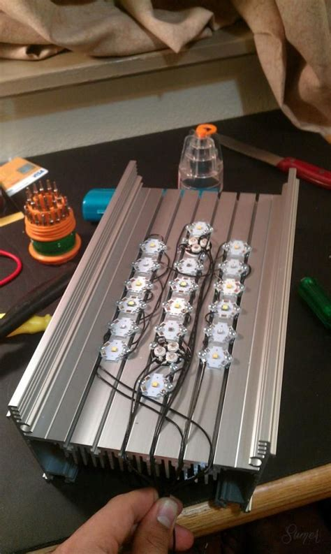 Driver Led Aquascape a complete idiot s guide to make an led lighting unit my aquarium boys pictures