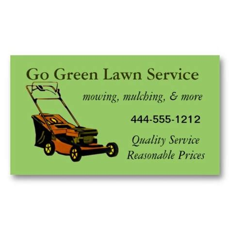business card lawn mower templates lawn service business card with mower customizable lawn