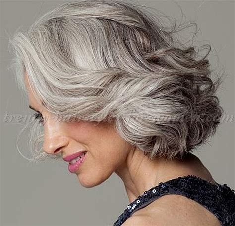 picture of gray wavy bob 17 best images about hair on pinterest shorts short