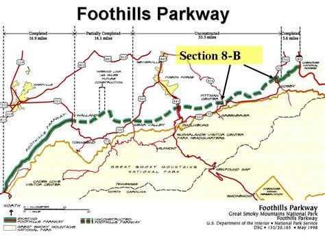 foothills parkway cosby tn smoky mountains information your smokies news march 2007
