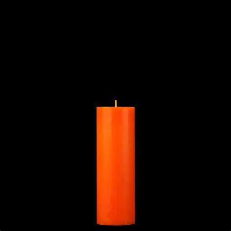 Orange Candle 2x6 Orange Pillar Candle