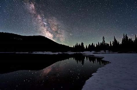 wallpaper pemandangan bintang malam foto menakjubkan pemandangan langit amerika dengan