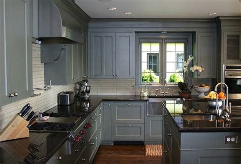 gray kitchen cabinet ideas 24 grey kitchen cabinets designs decorating ideas