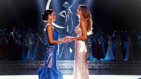 We A Miss Universe Contestant by Wrong Miss Universe Contestant Crowned In Awkward Ceremony