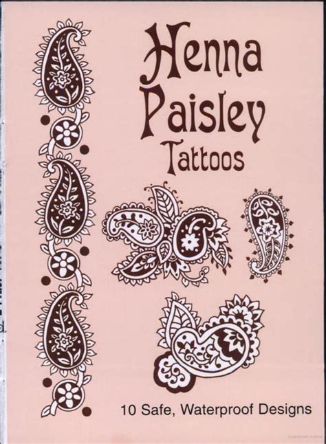 henna tattoo real henna paisley tattoos gt ideas for a real paisley tattoo