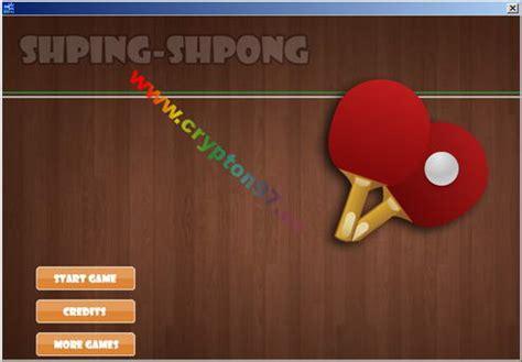 Raket Tenis Untuk Anak shping shpong permainan komputer olah raga tenis meja