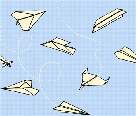 folded paper aeroplanes fabric pavlovais spoonflower