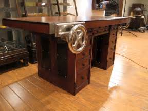 Kitchen Table With Bench by H O Studley S Workbench Most Of It Anyway Lost Art Press