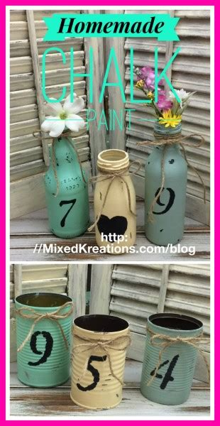diy chalk paint problems chalk paint for all your craft projects mixed