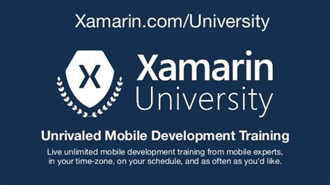 xamarin tutorial course visual studio toolbox introduction to xamarin forms