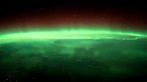 northern lights from space northern lights from space station pics about space