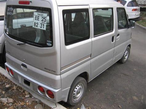 mitsubishi minicab 2003 mitsubishi minicab pictures 660cc gasoline fr or