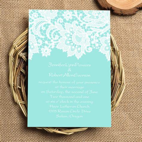 Cheap Wedding Invitations Blue by Blue Lace Wedding Invitations Ewi335 As