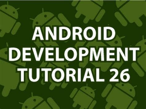 git tutorial derek banas android development tutorial 26 youtube
