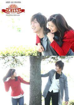 film drama korea naughty kiss episode terakhir playful kiss starring kim hyun joong as baek seung jo