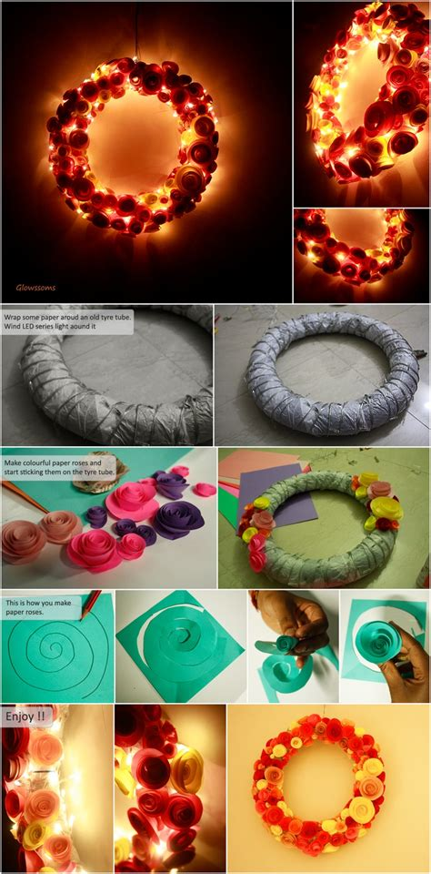 led lights for craft projects 257 best images about recycled tyre ideas for the garden