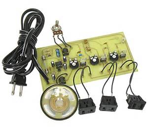 light show kit electronic goldmine 3 channel sound activated color