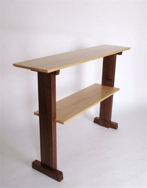 Thin Hallway Table Standing Desk Narrow Table Console Table For Narrow Hallway Table Stand Up Desk Handmade