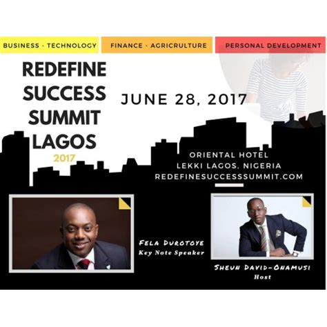 redefined the new for creating a career that matters and doing work you books redefine lagos to hold 2nd annual redefine success summit