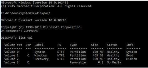 diskpart format drive letter oem deployment of windows 10 images for desktop editions