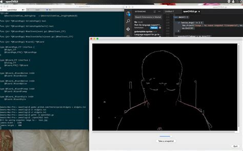 tutorial qt opencv golang gui with qt and opencv to capture image from camera