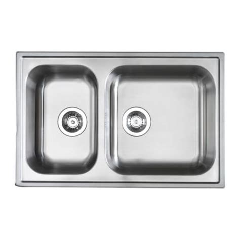 ikea double sink boholmen double bowl inset sink ikea