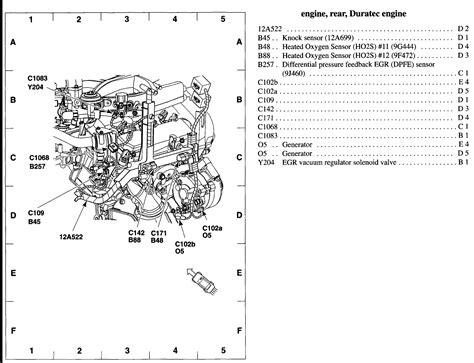 2002 ford escape parts diagram ford escape check engine light is