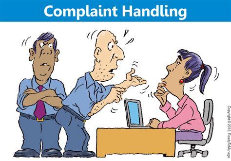 Handling A Complaint Letter Customer Complaints Handling