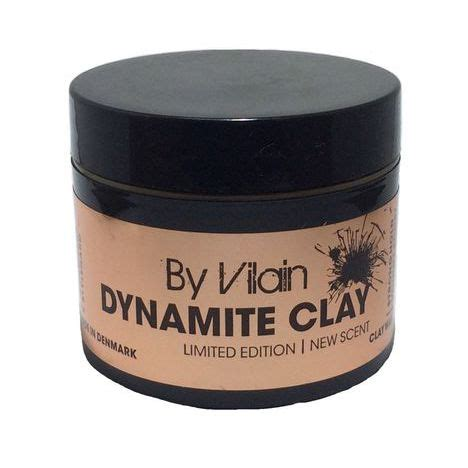 Pomade By Vilain Dynamite Clay s 225 p vuốt t 243 c by vilain dynamite clay limited edition
