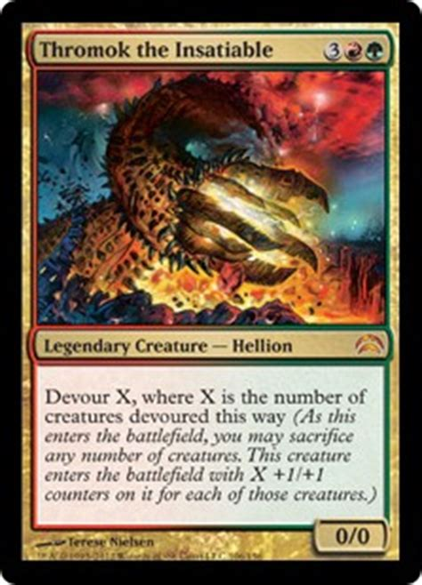 Devour Deck by Thromok The Insatiable Planechase 2012 Edition