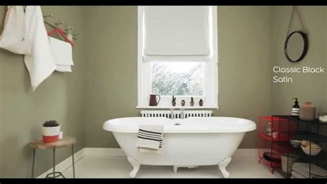 Bathroom Paint Colours Ideas dulux bathroom ideas olive green youtube