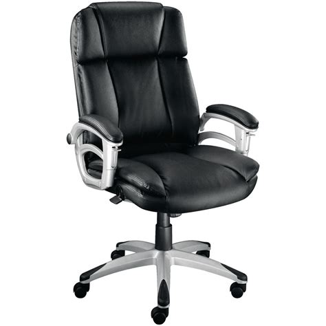 desk chairs staples staples warner executive leather faced chair black staples 174