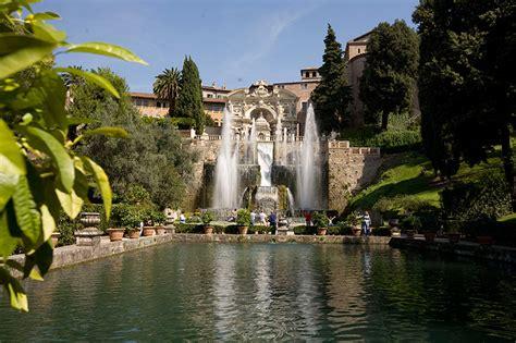 giardini di tivoli roma le ville di tivoli arte e storia idee di viaggio