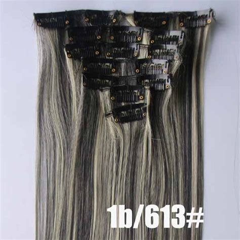 26 inch 1b 613 clip aliexpress buy free shipping best quality synthetic