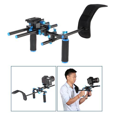 Dijamin Grip Untuk Rig Stabilizer Kamera stabilizer kamera shoulder support rig handgrip black jakartanotebook