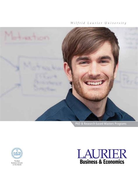 Laurier Mba Brochure by Laurier Sbe Phd Masters Brochure By Lazaridis School Of