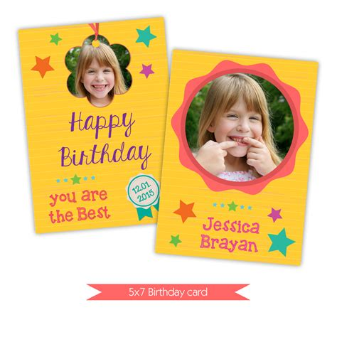 happy birthday card photoshop template nuwzz happy birthday card photoshop template bright yellow