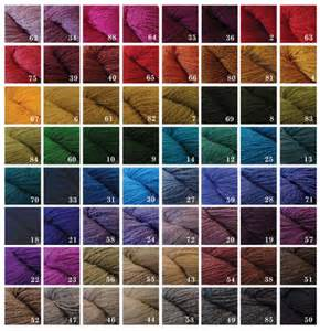 yarn color chart a homespun autos post