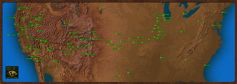 fallout usa map map of fallout america fallout