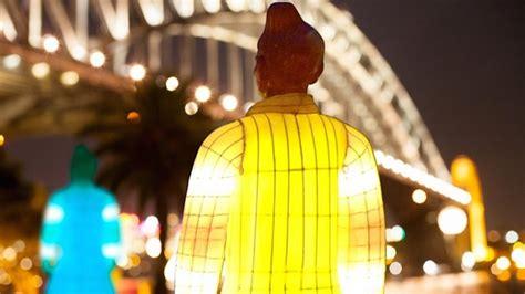 glow in the dark tattoo sydney terracotta warrior lantern sculptures glow in sydney for