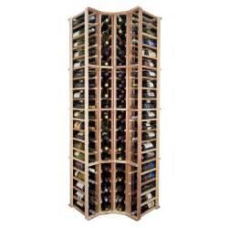 wine cellar innovations designer series curved corner rack