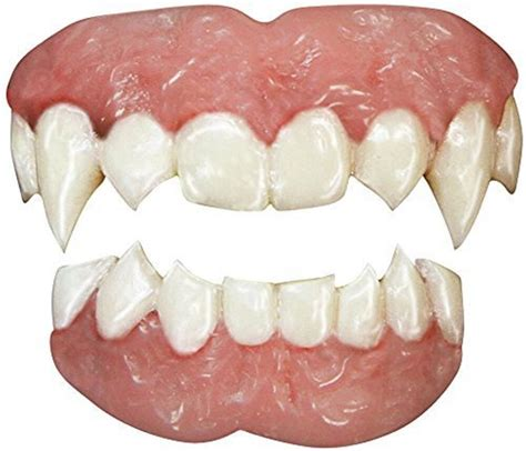 tinsley fx vampire teeth adult accessory halloween costume scary smile realistic ebay