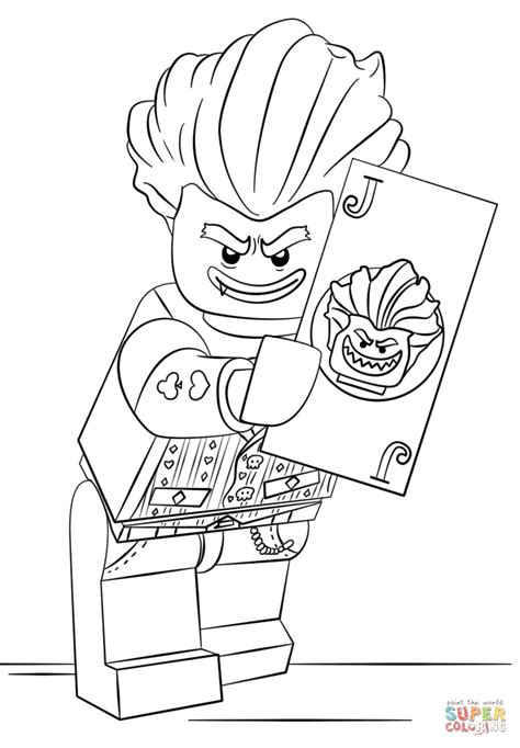 joker coloring pages to print free image