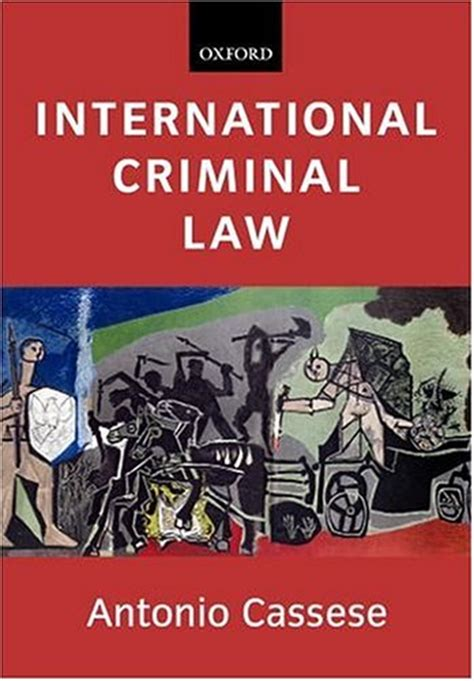 international picture books international criminal by antonio cassese reviews