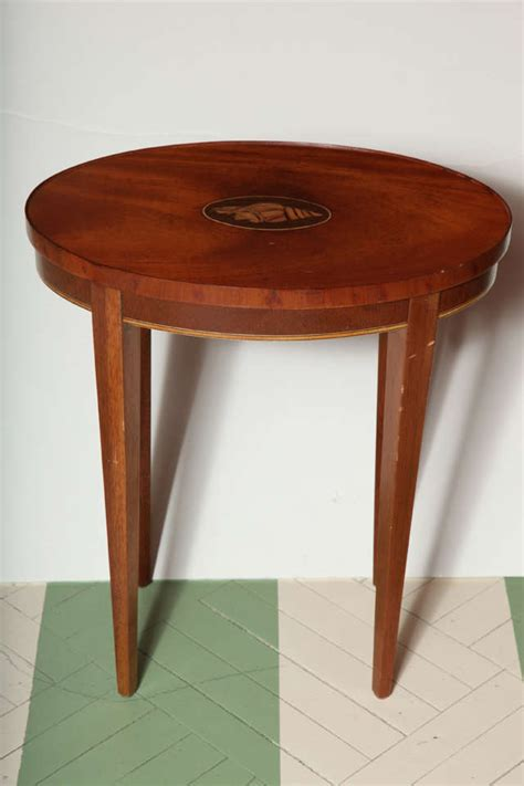Vintage Baker Furniture by Vintage Baker Furniture Drinks Table With Inlaid Shell