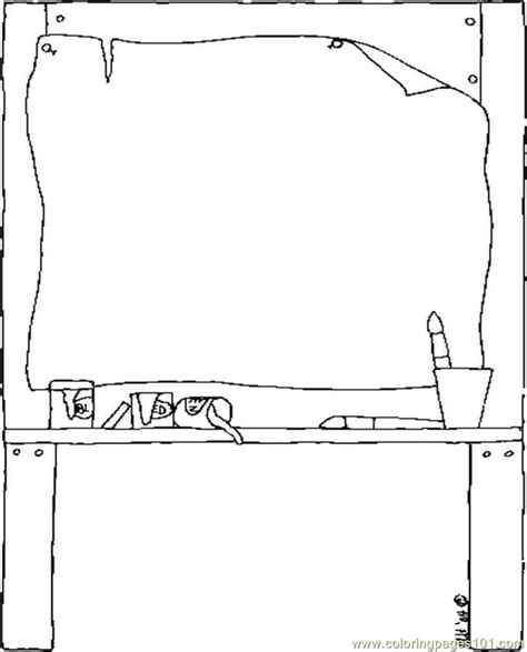 art easel coloring page free coloring pages of easel