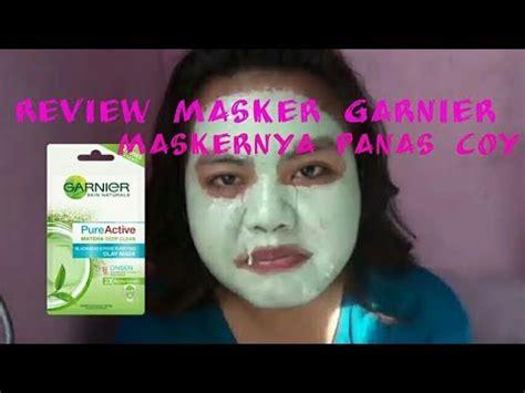 Masker Muka Garnier review masker matcha dari garnier se nangis
