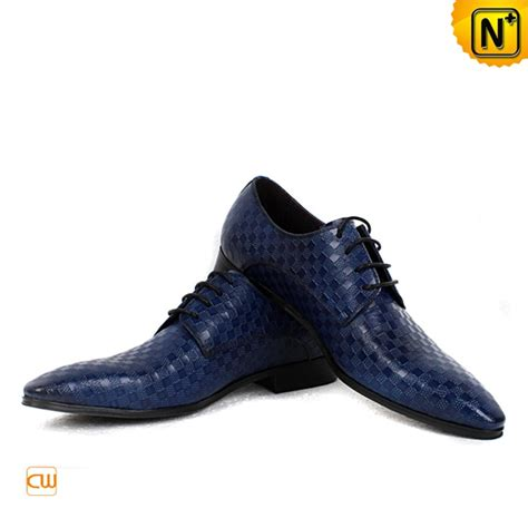 mens oxford dress shoes blue leather oxford dress shoes for cw762082