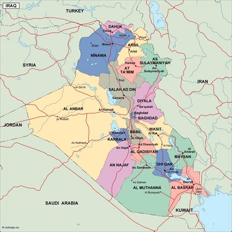 map of iraq cities iraq political map order and iraq political map